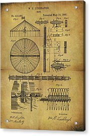 1885 Circus Tent Acrylic Print