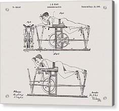1885 Exercise Apparatus Illustration Acrylic Print