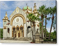 Acrylic Print featuring the photograph 1889 Memorial Presbyterian Church St. Augustine   -   1889memorialpresbyterian123057 by Frank J Benz