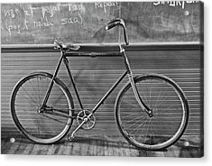 Acrylic Print featuring the photograph 1895 Bicycle by Joan Reese