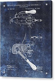 1895 Corkscrew Patent Acrylic Print