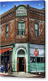 1898 Hotel Connor - Jerome Arizona Acrylic Print by Saija  Lehtonen