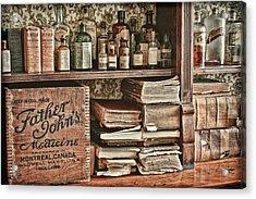 18th Century Pharmacy Acrylic Print