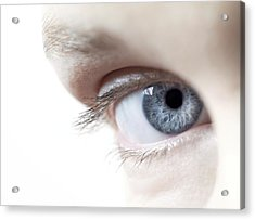 Woman's Eye Acrylic Print