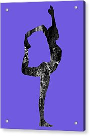 Yoga Collection Acrylic Print