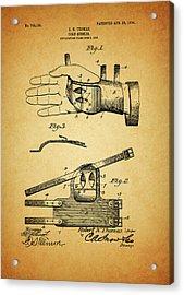 1904 Corn Husker Patent Acrylic Print