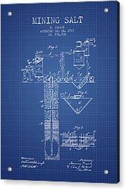 1907 Mining Salt Patent En36_bp Acrylic Print