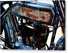 1914 Harley-davidson Motorcycle Acrylic Print