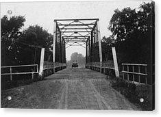 1915 Hudson Road Bridge Acrylic Print by Greg Joens