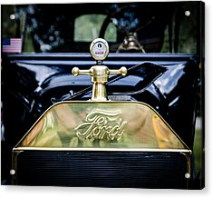 1916 Ford Model T Touring Tin Lizzie Acrylic Print by Jack R Perry
