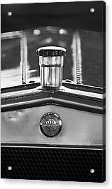 1917 Winton Six-33 Sport Touring Hood Ornament 2 Acrylic Print by Jill Reger