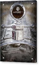 1920 Pierce-arrow Model 48 Coupe Hood Ornament -2829ac Acrylic Print by Jill Reger