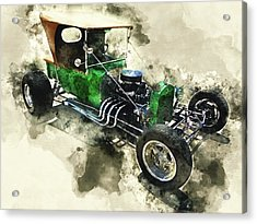 1923 Ford T-bucket Acrylic Print by Kevin O'Hare