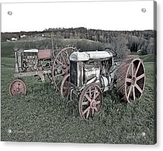 1923 Fordson Tractors Acrylic Print