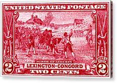 1925 Birth Of Liberty Stamp Acrylic Print