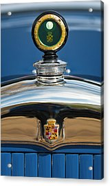 1926 Cadillac Series 314 Custom Hood Ornament Acrylic Print by Jill Reger