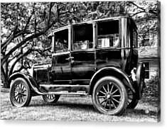 1926 Ford Model T Acrylic Print by Bill Cannon