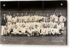 1926 Yankees Team Photo Acrylic Print