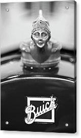 1928 Buick Custom Speedster Hood Ornament 4 Acrylic Print by Jill Reger