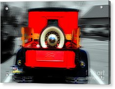 1928 Model A Ford  Acrylic Print by Steven Digman