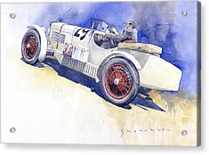 1929 Wikov 7 28 Sport  Acrylic Print