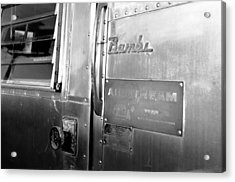 1930 Bambi Travel Trailer Acrylic Print by David Lee Thompson
