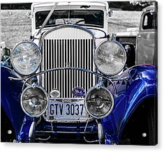 1930 Chryaler 70 Coupe Acrylic Print by Jack R Perry
