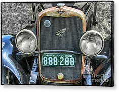 1930 Dodge Six  Acrylic Print by Steven Digman