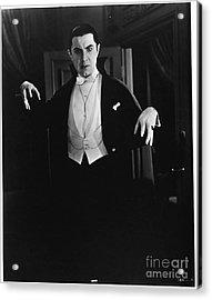 1931 Dracula Bela Lugosi Acrylic Print