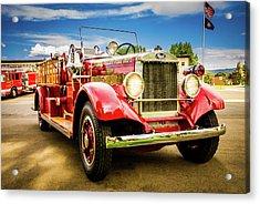 1931 Mack - Heber Valley Fire Dept. Acrylic Print