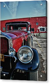 Acrylic Print featuring the photograph 1931 Pierce Arow 3473 by Guy Whiteley