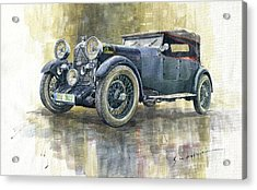 1932 Lagonda Low Chassis 2 Litre Supercharged Front Acrylic Print