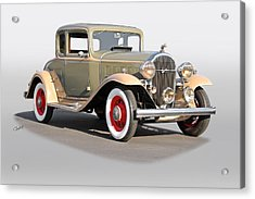 1932 Buick 96 S Coupe '3q Pass Side' Acrylic Print