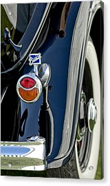 1932 Buick Series 60 Phaeton Taillight Acrylic Print by Jill Reger