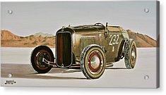 1932 Ford Rolling Bones Roadster Acrylic Print by Branden Hochstetler
