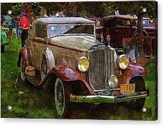1932 Packard 900 Acrylic Print by Thom Zehrfeld