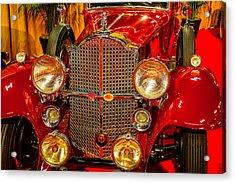 1932 Packard Model 902 Acrylic Print by Garry Gay