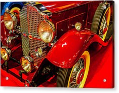 1932 Packard Model 902 Rumble Seat Coupe Acrylic Print by Garry Gay
