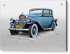 1932 Pierce Arrow 54 Club Brougham Acrylic Print