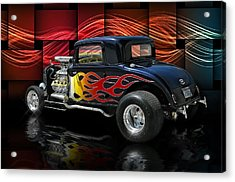 1932 Plymouth Coupe .... Acrylic Print by Rat Rod Studios