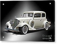 1933 Buick Series 86 Victoria 'studio' IIi Acrylic Print