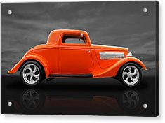 1933 Ford Three Window Coupe Acrylic Print