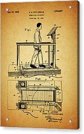 1933 Treadmill Acrylic Print