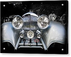 1934 Bentley Drop Head Coupe Acrylic Print by Jack R Perry