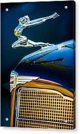 1934 Buick Series 96-c Convertible Coupe Hood Ornament - Emblem Acrylic Print