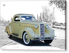 1934 Lasalle Series 350 Coupe Acrylic Print