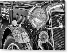 Acrylic Print featuring the photograph 1934 Mg Pa Roadster by Dennis Hedberg
