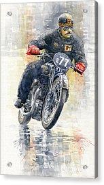 1934 Rudge Ulster Grand Prix Model  Acrylic Print