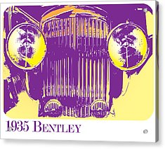 1935 Bentley Acrylic Print