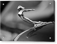 1936 Cadillac Hood Ornament 3 Acrylic Print